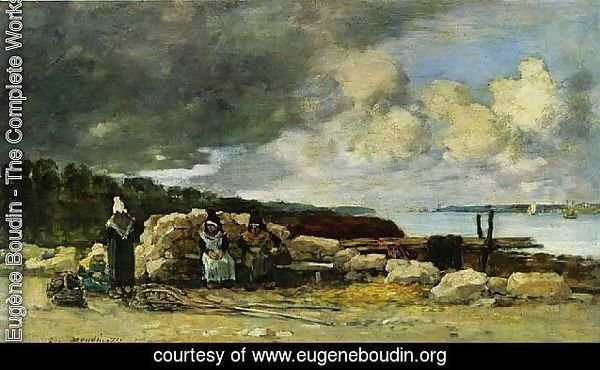 Fisherwomen at Brest