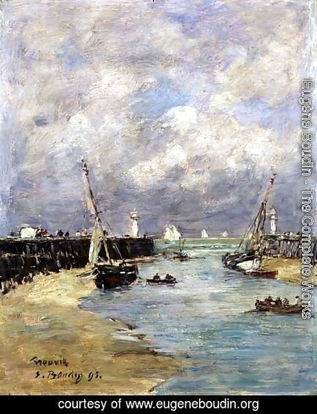 Low Tide at Trouville 1895