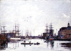 The Basin of the Barre, Le Havre 1895