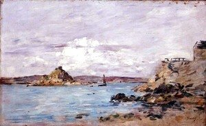 Eugène Boudin - The Bay of Douarnenez c.1895-97