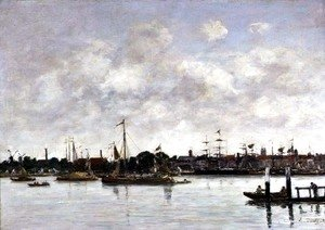 The Meuse at Dordrecht 1874