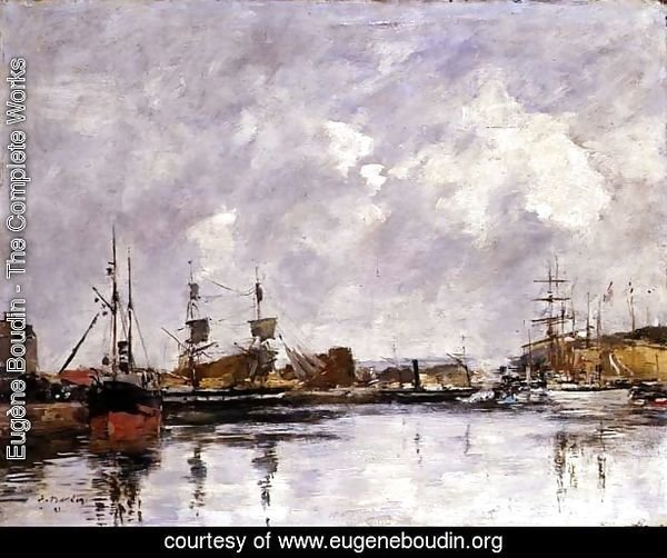 The Port of Dunkirk 1891