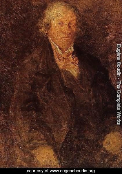 Portrait of the Artist's Father (Leonard-Sebastien Boudin)