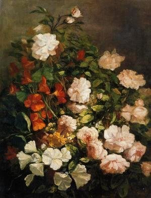 Eugène Boudin - Spray of Flowers