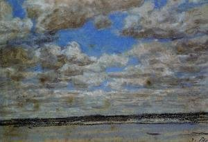 Eugène Boudin - Fine Weather, White Clouds