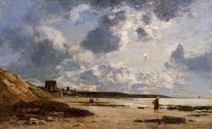 Eugène Boudin - Trouville, Black Rocks