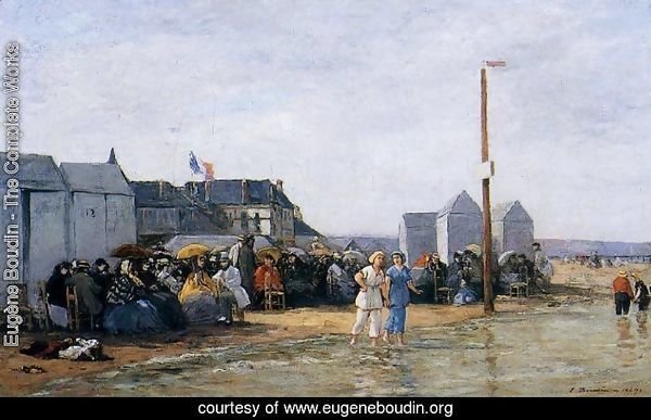 Trouville, Bathing Hour