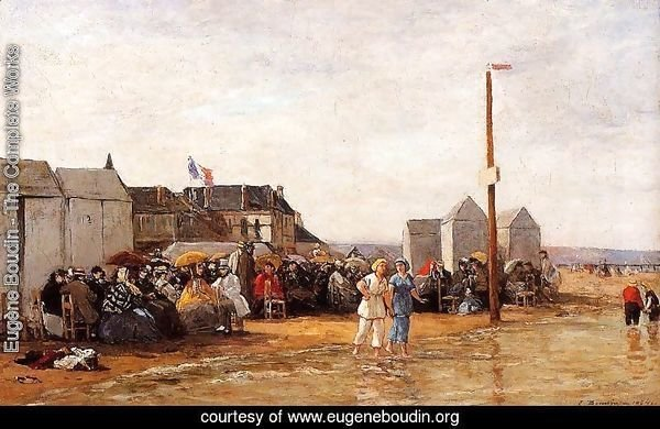 The Bathing Hour at Trouville
