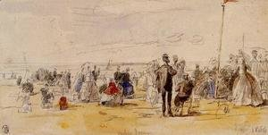 Eugène Boudin - Beach Time