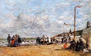 Trouville, Beach Scene I