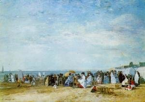 Eugène Boudin - The Beach