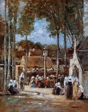Eugène Boudin - Local Pilgrimmage at Landerneau