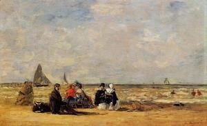 The Beach at Trouville III