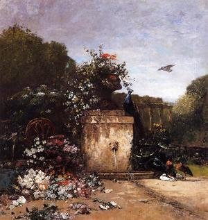 Eugène Boudin - The Garden