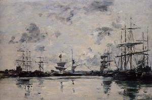Eugène Boudin - Le Havre, the Port