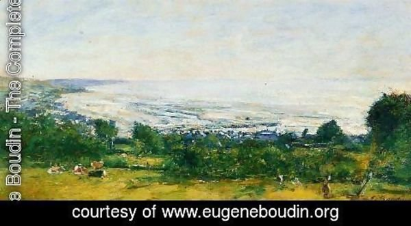 Eugène Boudin - The Trouville Heights