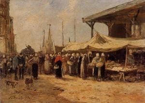 Trouville, Fish Market I