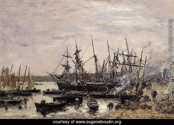 Camaret, Fishing Boats at Dock