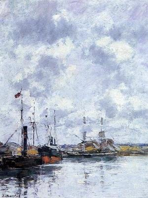 Eugène Boudin - The Trouville Basin