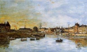 Eugène Boudin - Trouville, the Port I