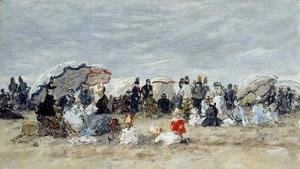 Trouville, Beach Scene VII