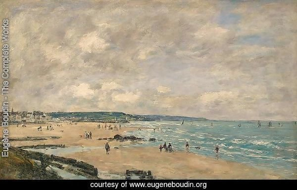 The Beach at Trouville VII