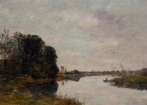 Eugène Boudin - The Toques at Saint-Arnoult
