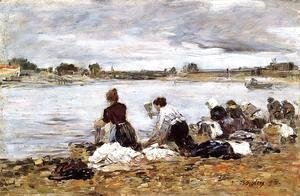 Laundresses on the Banks of the Touques III