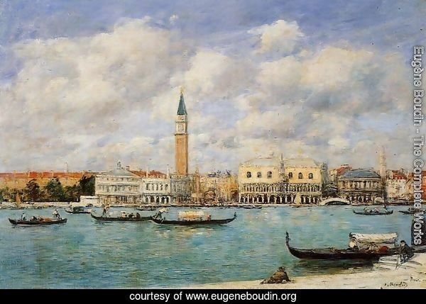 Venice, the Campanile, View of Canal San Marco from San Giorgio