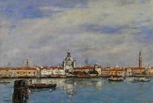 Eugène Boudin - Venice, the Grand Canal