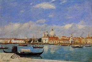 Eugène Boudin - View of Venice I
