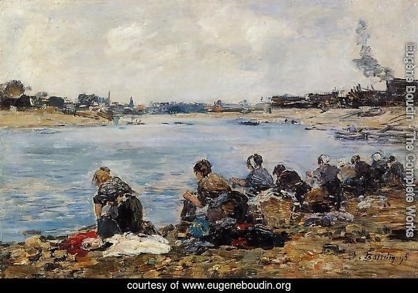 Laundresses on the Banks of the Touques V