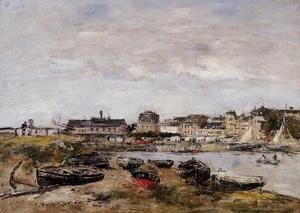 Eugène Boudin - Trouville, View from Deauville, a Day in March
