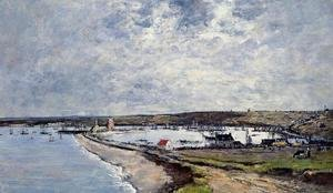 Eugène Boudin - General View of Camaret