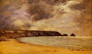 Eugène Boudin - Camaret, the Bay