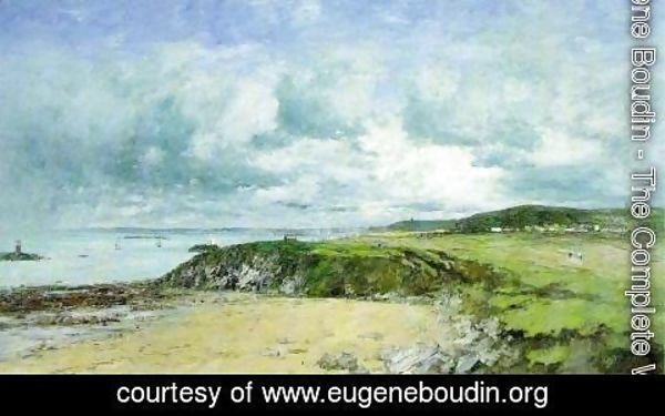 Eugène Boudin - The Coast of Portrieux