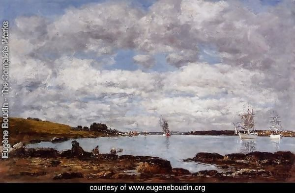 Kerhorl, the Bay, Mouth of the River Landerneau