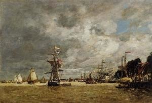 Anvers, Boats on the Ecaut