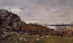 Eugène Boudin - The Mouth of the Elorn in the Area of Brest