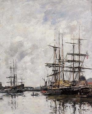 Eugène Boudin - The Deauville Basin