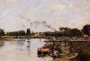 Saint Valery sur Somme, the Abbeville Canal
