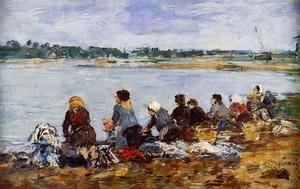 Laundresses on the Banks of the Touques IX