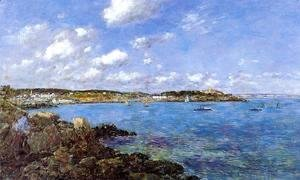 Eugène Boudin - The Bay of Douarnenez I