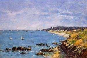 Eugène Boudin - Trouville, View from the Heights