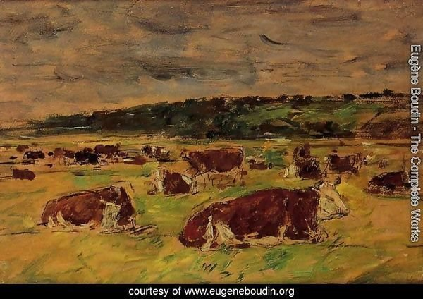 Cows in the Pasture I