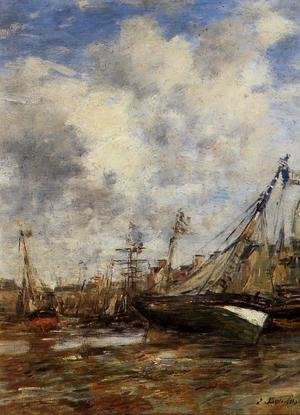 Eugène Boudin - Trouville, Low Tide I