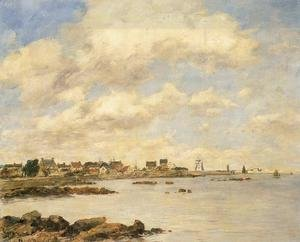 View of Saint-Vaast-La-Houghe