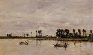 Eugène Boudin - Caudebec-en-Caux, Banks of the Saine