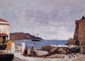 The Bay of Villefranche, the Port