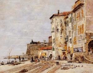 Quay at Villefranche